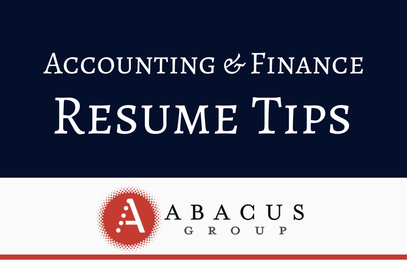 An Accounting Of — Abacus Group Blog
