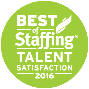 Best of Staffing Talent Satisfaction 2016